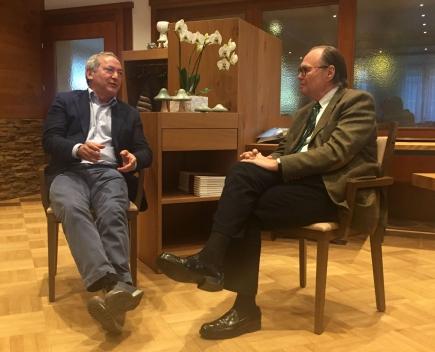 Samih O. Sawiris im Gespräch mit Werner Baumann